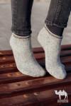 Носки спортивные из шерсти серый, Монголия