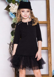 Школьное платье для девочки (рост 152 см)
