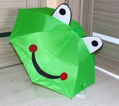"""Зонт детский 300618 """"С Ушками"""" Зеленый"""