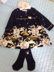 Платье с колготками