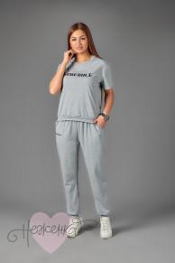 Женская костюм ЖК 019 (серый)