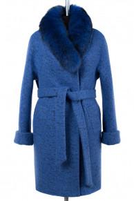 Пальто женское утепленное (пояс) Букле