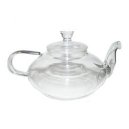 """Заварочный чайник из жаропрочного стекла """"Фрезия"""" с пружинко"""