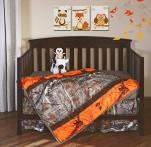Carstens Camo 3-Piece Crib Sheet Set