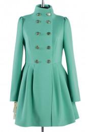 01-4902 Пальто женское демисезонное Кашемир Мята