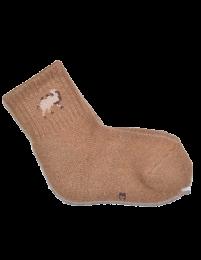Носки детские из верблюжьей шерсти (тёмные)