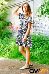 Платье орнамент