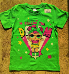 В НАЛИЧИИ футболка для девочки ЗТ012-5