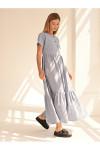 100461 Платье (VEREZO)Голубой