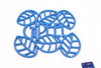 0208 GIPFEL Подставка под горячее GLUM 23х20х0,8см синяя Мат