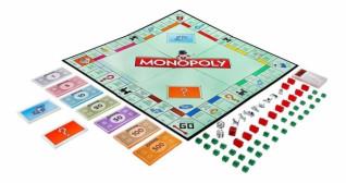 Настольная экономичная игра Монополия g