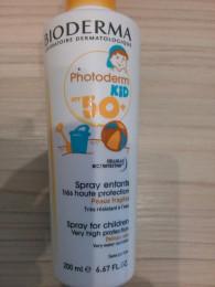 Bioderma Photoderm Kid Spray SPF 50+ 200 мл,защита от солнца