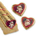 Новогоднее шоколадное сердце Ностальгия 5шт