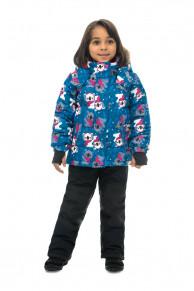 WP81219 BLUE  Комплект зимний: куртка и брюки р86-100