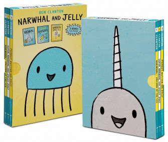 Narwhal and Jelly 3 книги