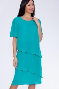 23616 Платье Темная мята