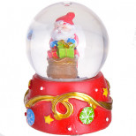 "Водный шар маленбкий ""Дед Мороз"" 7см (х144)"