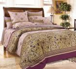 Комплект постельного белья из сатина 1-5 сп Бархат 1
