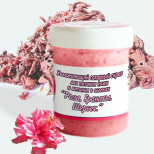 Сахарный скраб на основе масла ши (каритэ) «Роза. Гранаты.