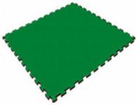 Мягкий пол универсальный 1000*1000*14 мм, зеленый