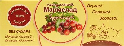 "Мармелад без сахара ""Брусника"" 140г"