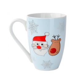 """Кружка """"Счастливый Праздник: Санта"""", объем 0,2 л."""