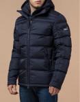 Темно-синяя куртка с прочной фурнитурой модель 12055