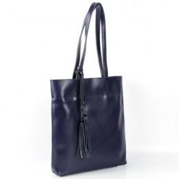 Женская кожаная сумка 1830 Блу