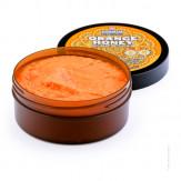 Марокканский натуральный медовый солевой скраб Orange Honey
