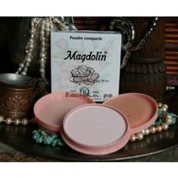 Натуральная жасминовая компактная пудра MAGDOLIN №3