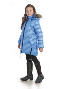 Пальто для девочки - пуховое