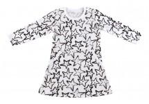 Платье для девочки с длинным рукавом со звёздами