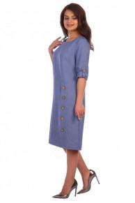 Платье Селена (2296). Расцветка: синий джинс