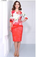 Платья  Модель 31093 тюльпаны Matini   Производитель: Matini