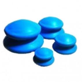 Банки для вакуумного массажа из антиаллергенной резины 4 шт