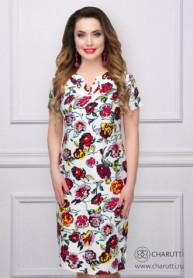 Платье Акварель (флауэр)