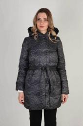 Пальто женское LA-D01254 пух