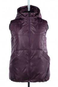 04-1947 Куртка демисезонная (синтепон 150) Плащевка Темно-фи