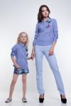 Блузка Lira fy5055. Мама+дочка