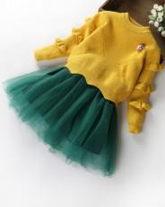 Комплект Платье + свитер )