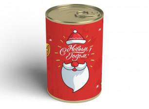 """Носки в банке """"Подарок от Деда Мороза"""""""
