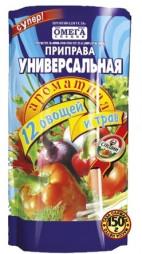 Омега Приправа Универсальная 12 овощей и трав дойпак