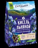 """Кисель льняной с черной смородиной """"Сила Алтая"""" 150 гр"""