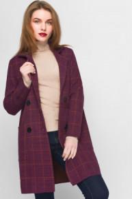 Вязаное пальто 31018