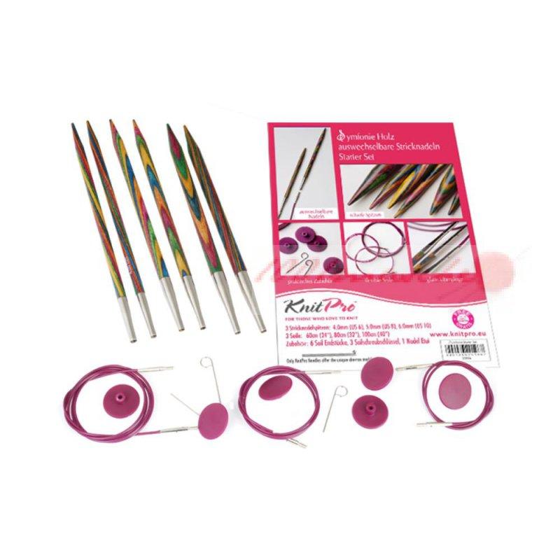ebony circular knitting needles № 222321