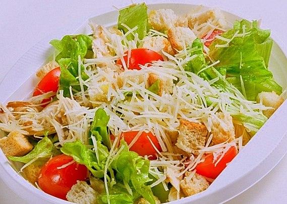 читать рецепт салата цезарь