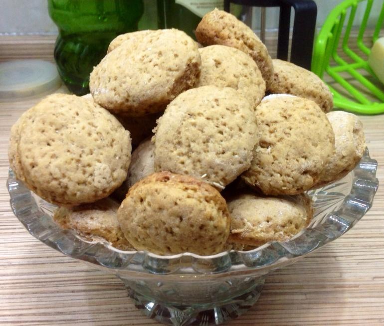 Мягкое печенье с корицей