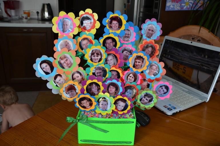 Подарок бабушке своими руками на день рождения 55 лет 42
