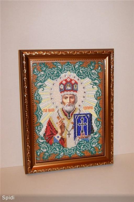 Николай Чудотворец для моей мамы ( процесс)