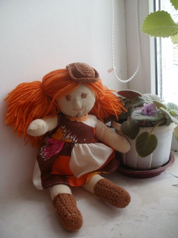 Первая  моя  вальдорфская  кукла
